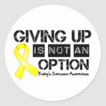 Ewing Sarcoma Giving Up Is Not An Option Stickers