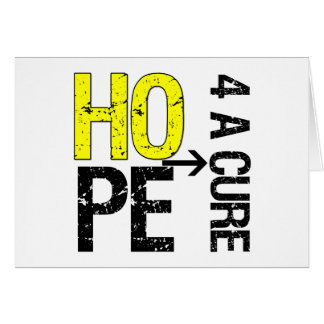 Ewing Sarcoma Hope For a Cure Card