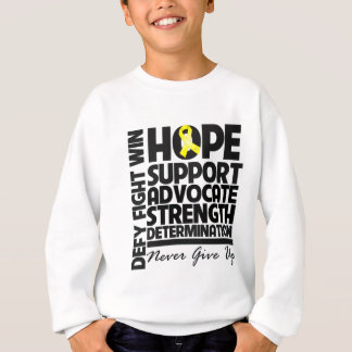 Ewing Sarcoma Hope Support Advocate Sweatshirt