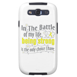 Ewing Sarcoma In The Battle Samsung Galaxy SIII Cases