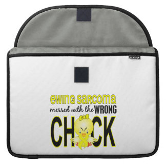 Ewing Sarcoma Messed With Wrong Chick MacBook Pro Sleeve