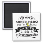 Ewing Sarcoma Not a Super-Hero 2 Inch Square Magnet