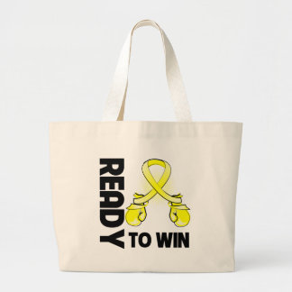 Ewing Sarcoma Ready To Win Large Tote Bag