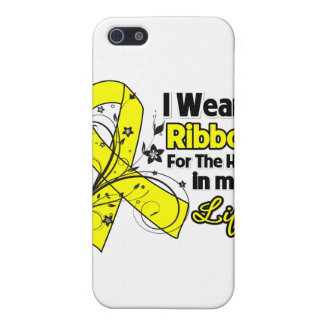 Ewing Sarcoma Ribbon Hero in My Life Covers For iPhone 5