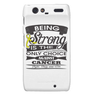 Ewing Sarcoma Strong is The Only Choice Droid RAZR Covers