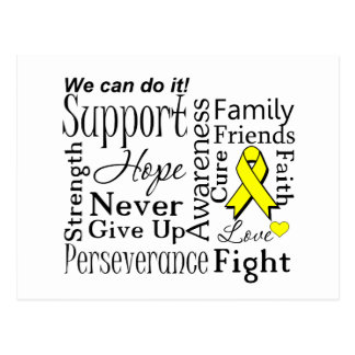 Ewing Sarcoma Supportive Words Post Cards