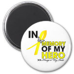 Ewing Sarcoma Tribute In Memory of My Hero Magnet