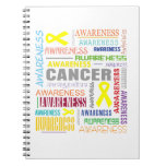 Ewings Sarcoma Awareness Collage Note Book