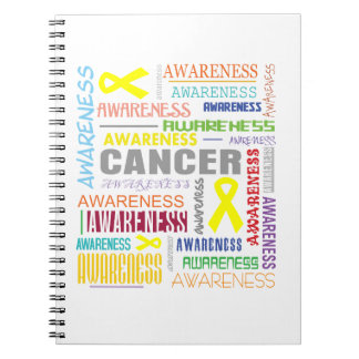 Ewings Sarcoma Awareness Collage Notebook