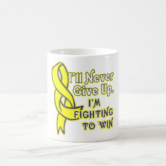 Ewings Sarcoma Cancer I'll Never Give Up Coffee Mug