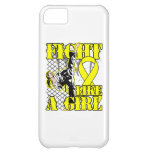 Ewings Sarcoma Fight Like A Girl Kick iPhone 5C Cover