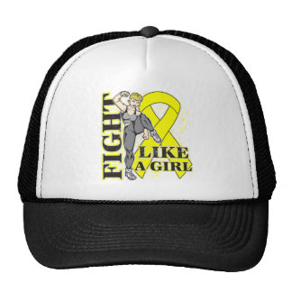 Ewings Sarcoma Fight Like A Girl Kickin Butt Hats