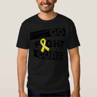 Ewings Sarcoma Go Fight Cure Tee Shirt