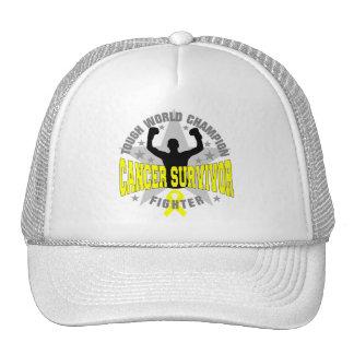 Ewings Sarcoma Tough World Champion Survivor Hat