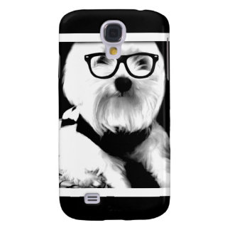 Ewok. Cute maltese with glasses Galaxy S4 Cover