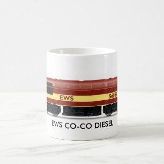 EWS CO-CO DIESEL ELECTRIC CLASS 56 No. 56 059 Coffee Mug