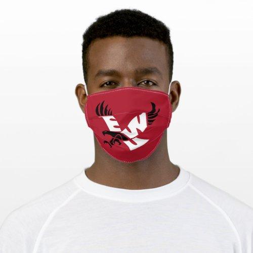 EWU Eagle Logo Adult Cloth Face Mask