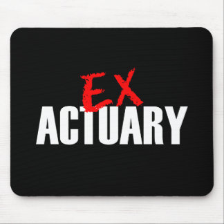 EX ACTUARY MOUSE PAD