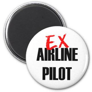 EX AIRLINE PILOT MAGNET