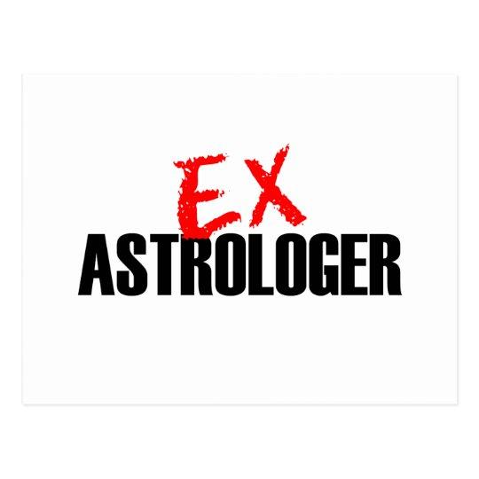 EX ASTROLOGER POSTCARD