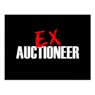 EX AUCTIONEER POSTCARD