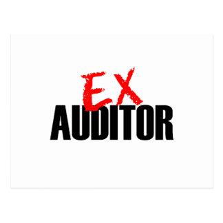 EX AUDITOR POSTCARD
