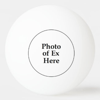 Ex bola de ping-pong de la foto pelota de tenis de mesa
