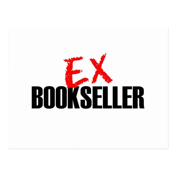 EX BOOKSELLER LIGHT POSTCARD