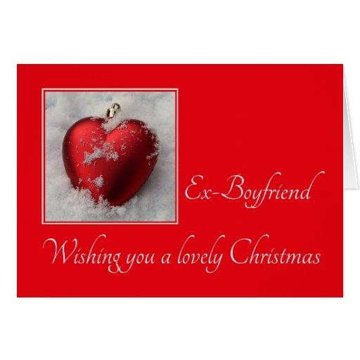 Ex-boyfriend Merry Christmas Card