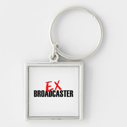 EX BROADCASTER LIGHT KEY CHAINS