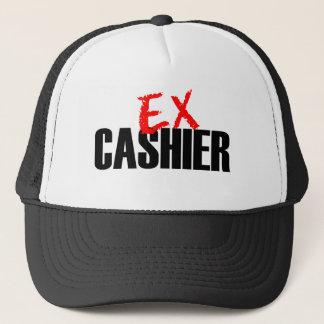 EX CASHIER LIGHT TRUCKER HAT
