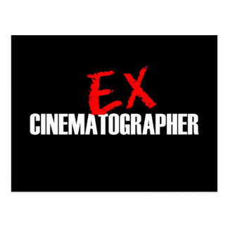 EX CINEMATOGRAPHER LIGHT POSTCARD