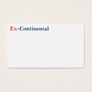 Ex-Continetal Cards