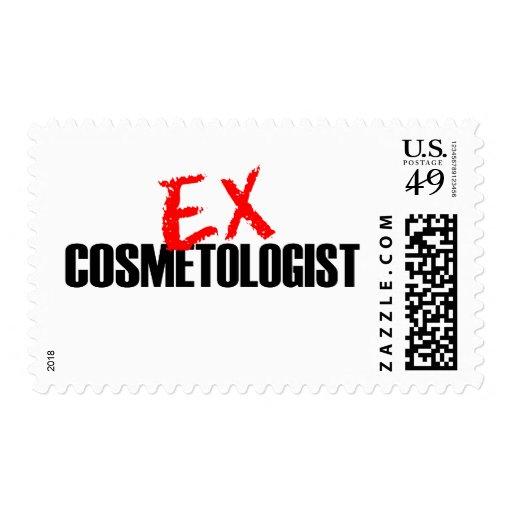 EX COSMETOLOGIST LIGHT STAMP