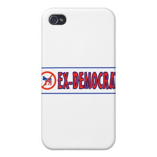 EX-DEMOCRAT iPhone 4 CÁRCASA