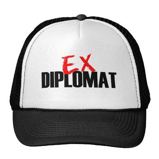 EX DIPLOMÁTICO GORRO
