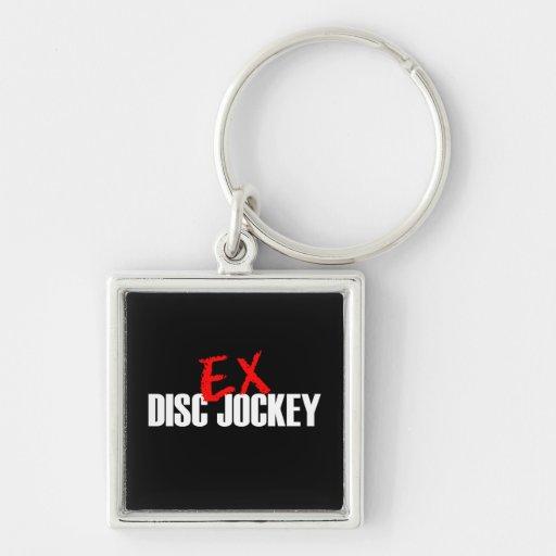 EX DISC JOCKEY DARK KEYCHAIN