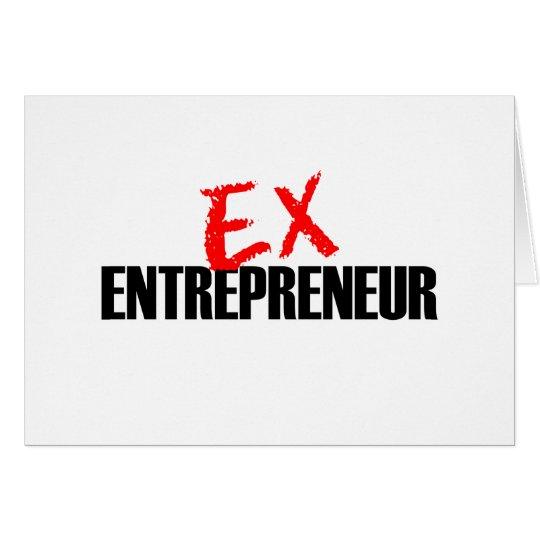 EX ENTREPRENEUR LIGHT CARD