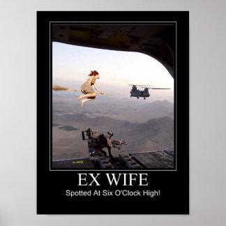 Ex esposa manchada impresiones