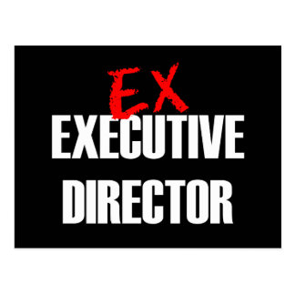 EX EXEC DIRECTOR DARK POSTCARD