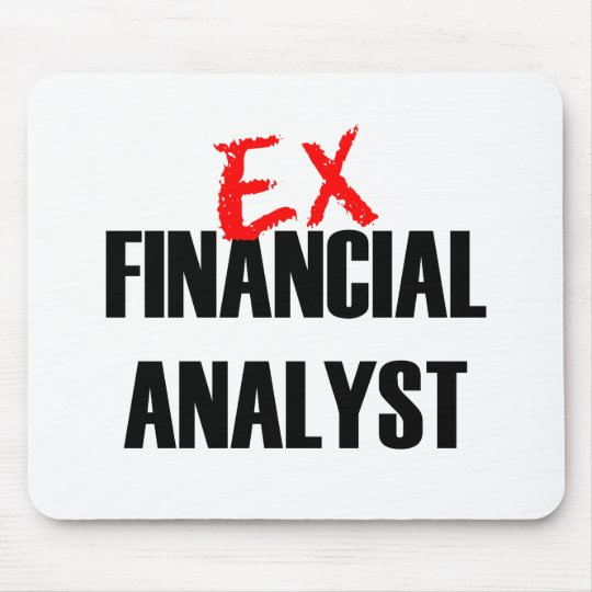 EX FINANCIAL ANALYST LIGHT MOUSE PAD