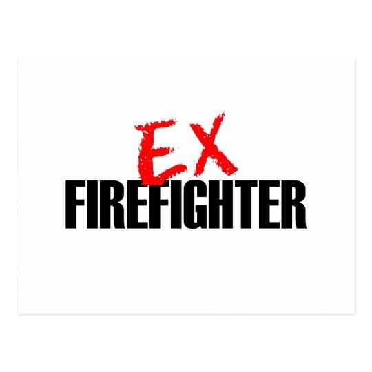 EX FIREFIGHTER LIGHT POSTCARD
