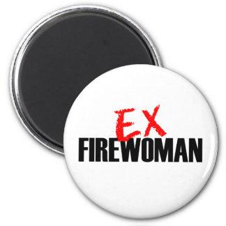 EX FIREWOMAN LIGHT MAGNET