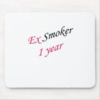 ex-fumador de 1 año mousepad