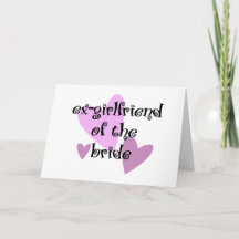 Ex Girlfriend Greeting Cards, Note Cards and Ex Girlfri