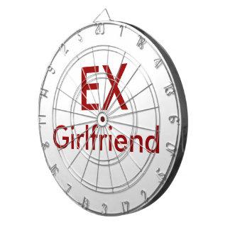 'Ex-Girlfriend' Themed DartBoard