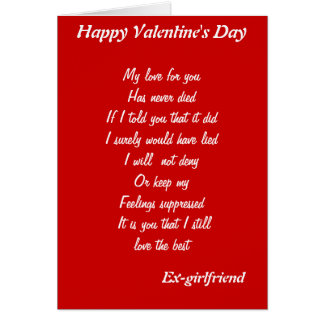 Girlfriend Valentines Day Cards  Greeting  Photo Cards  Zazzle
