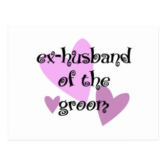 Ex-Husband of the Groom Postcard