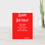 """Ex-husband still friends birthday cards<br><div class=""""desc"""">birthday greeting cards with dedication to a special ex-husband from a mother and her children by ralph staples greetings inc</div>"""