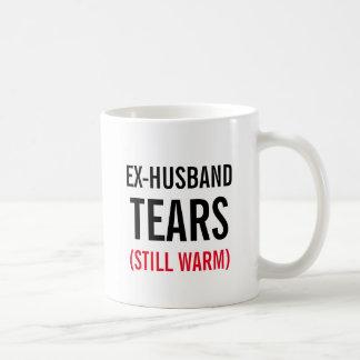 Ex-Husband Tears Still Warm Coffee Mug
